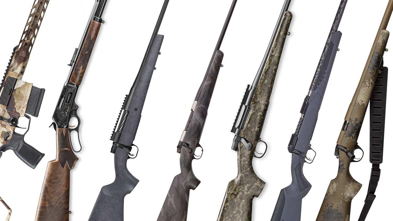 best new hunting rifles shot show.