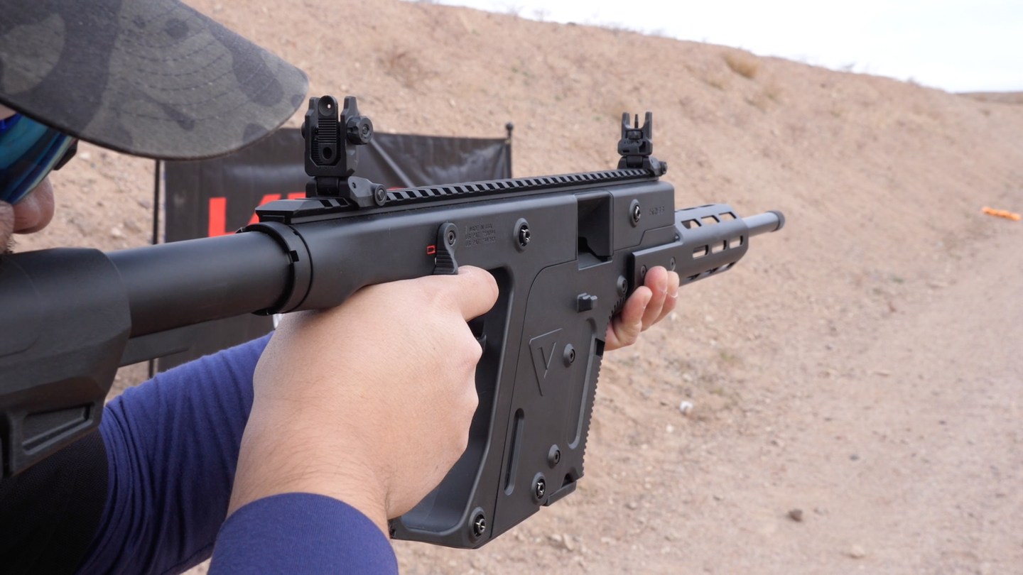 The KRISS Vector22 CRB.
