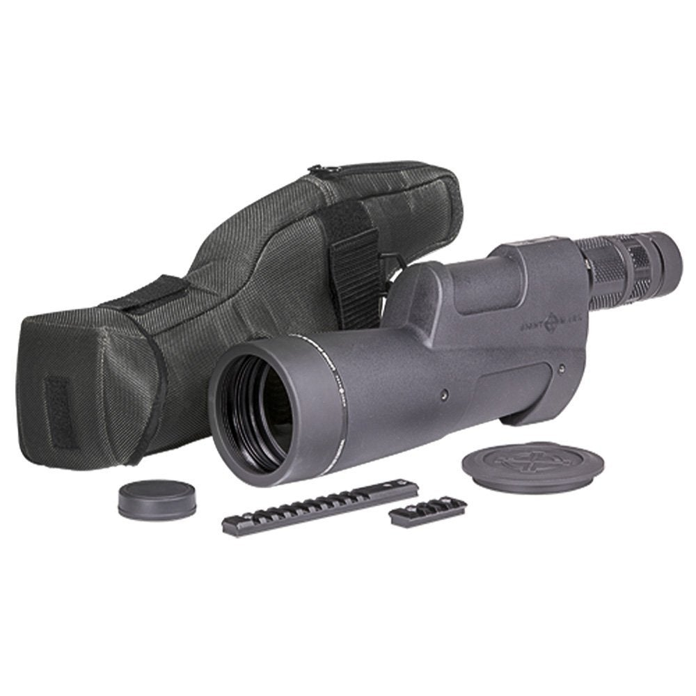 range finding spotting scope.