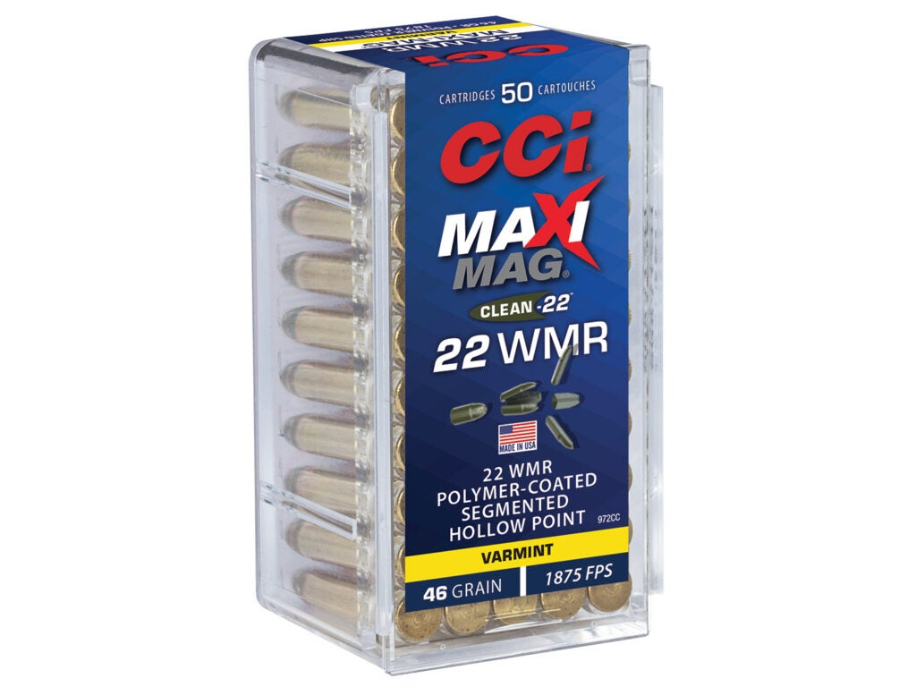 CCI CLEAN-22 Suppressor .22 LR & HP Segmented .22 WMR
