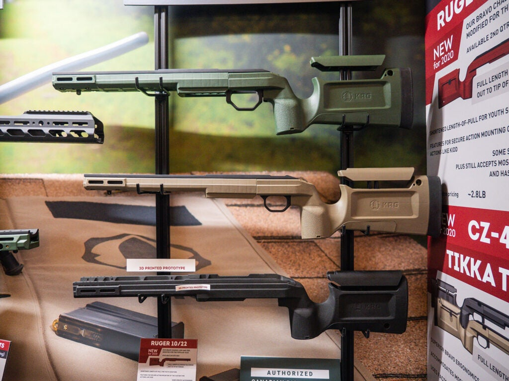 Kinetic Research Group Bravo 10/22 Chassis