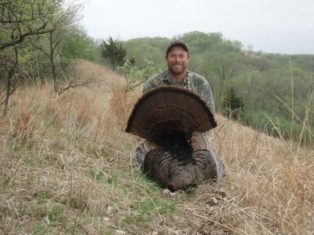Tom Weddle with a western public-land gobbler.