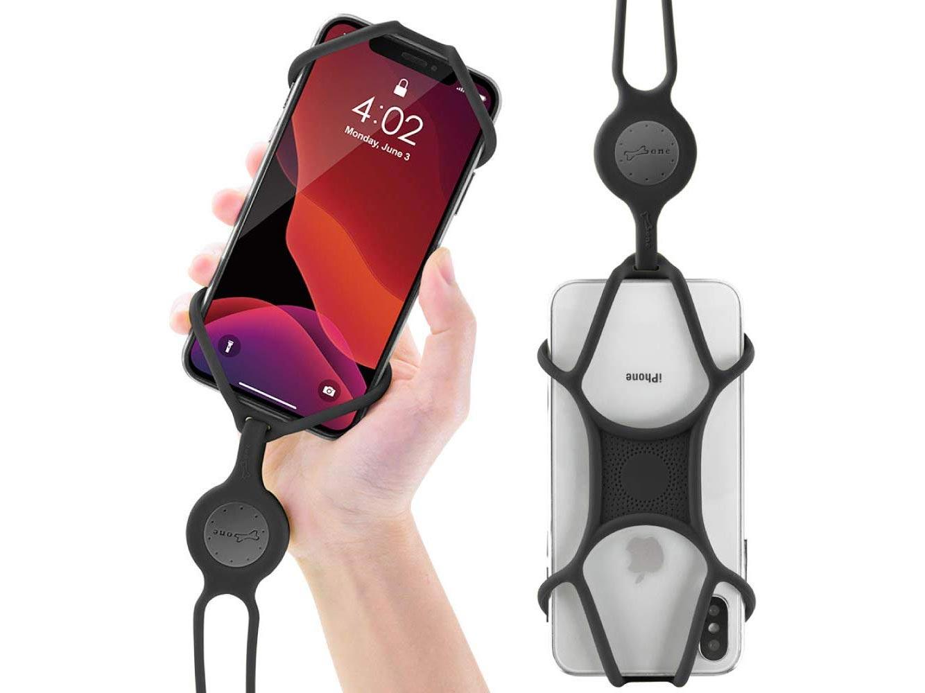 Cell phone lanyard