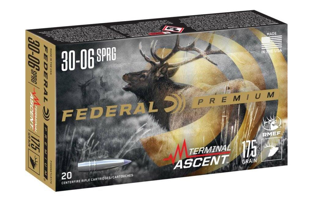 Federal Premium Terminal Ascent ammo.