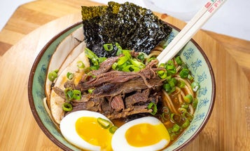 How to Make Ramen with Venison Shank Meat