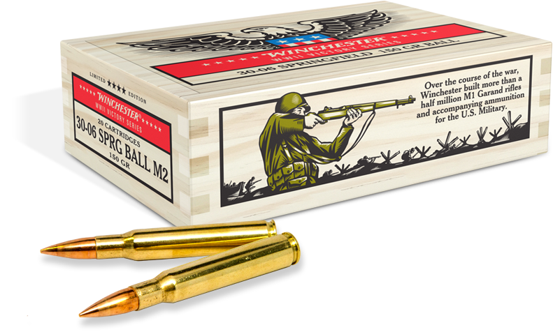Winchester Victory WWII Ammo.