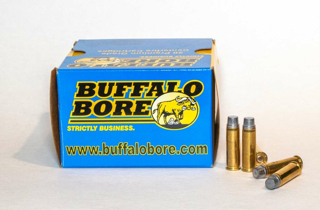 the 32 H&R Buffalo Bore 130-grain hardcast load