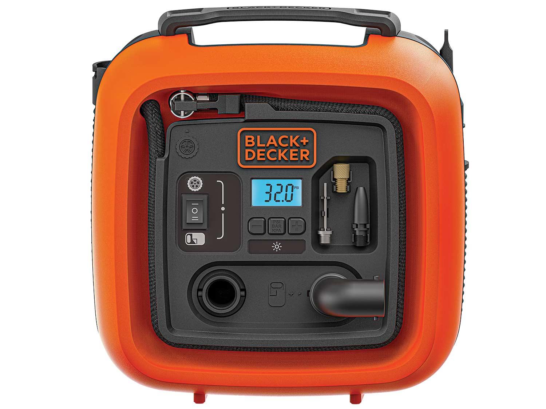 Black+Decker 12V Multipurpose Inflator