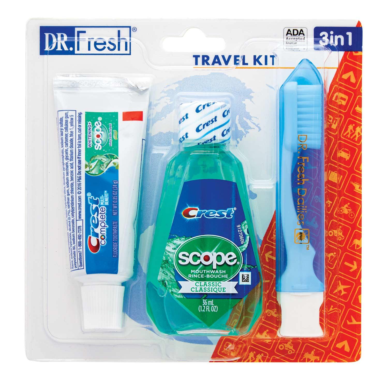 Dr. Fresh Travel Kit 3-in-1