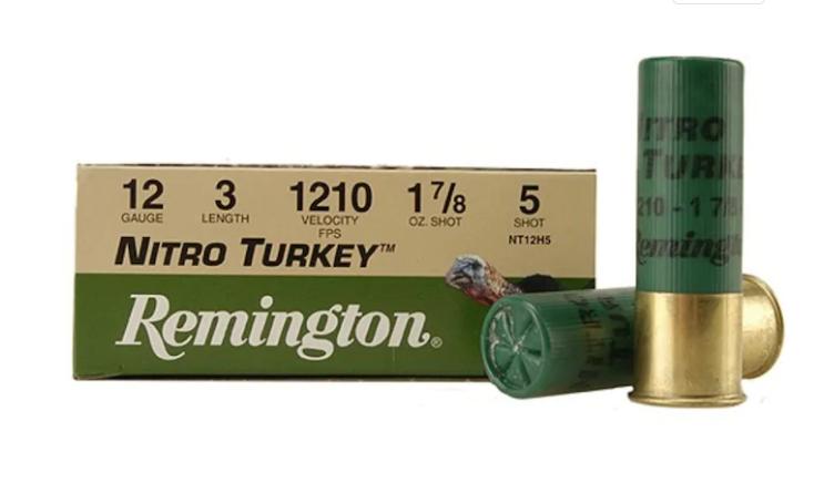 Remington Nitro Turkey loads.