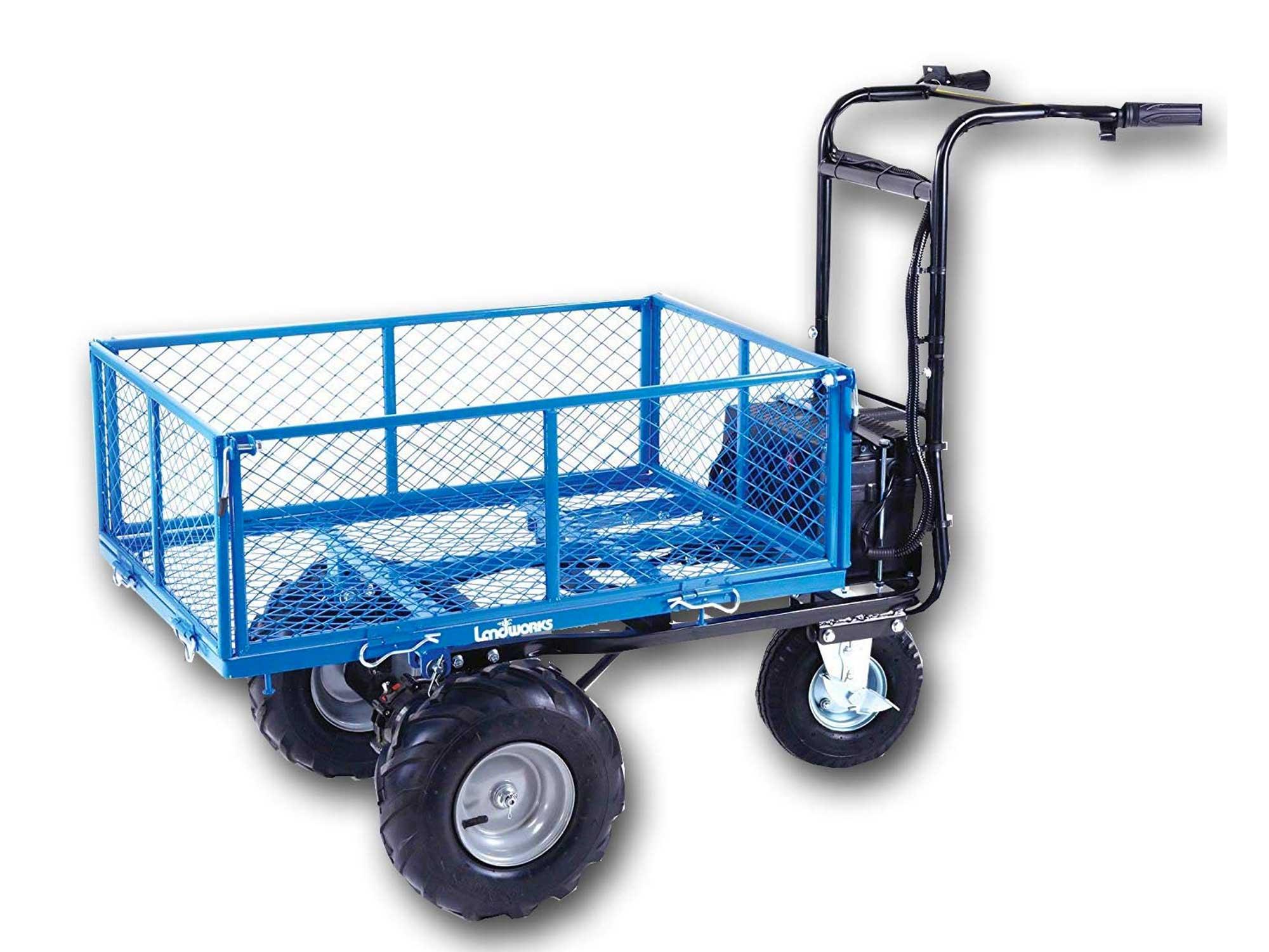 Landworks Utility Cart Hand Truck Power Wagon