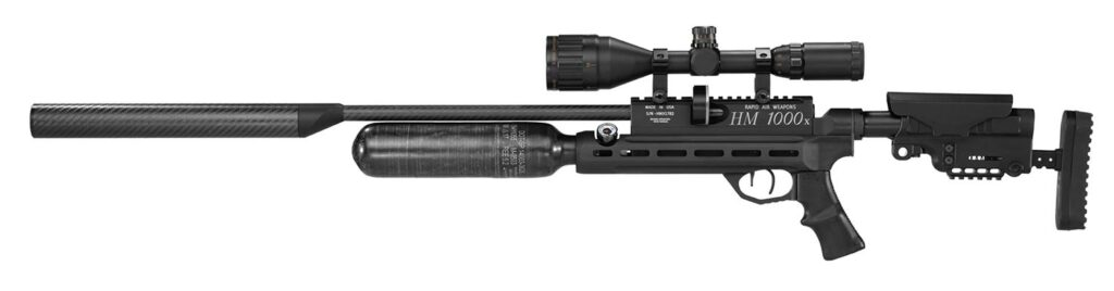 Rapid Air Weapons HM1000x LRT Chassis Rifle