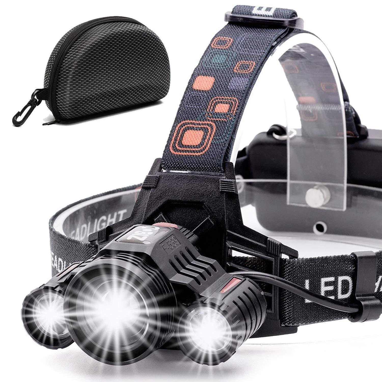 Cobiz Headlamp Flashlight USB