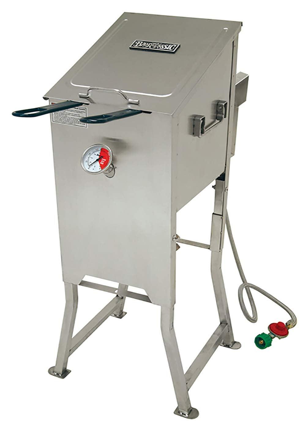 Bayou Classic 4 Gallon Stainless Steel deep fryer