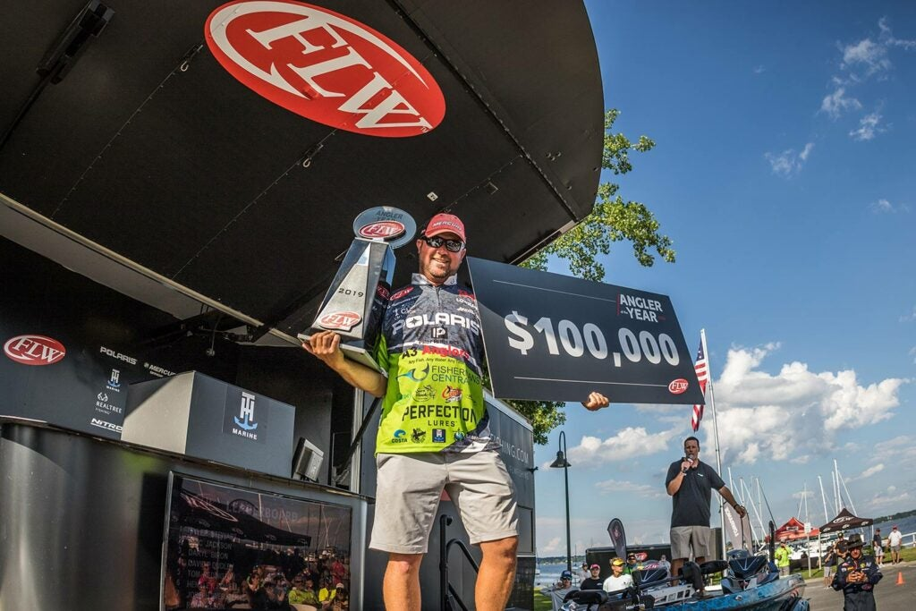 Professional bass angler David Dudley