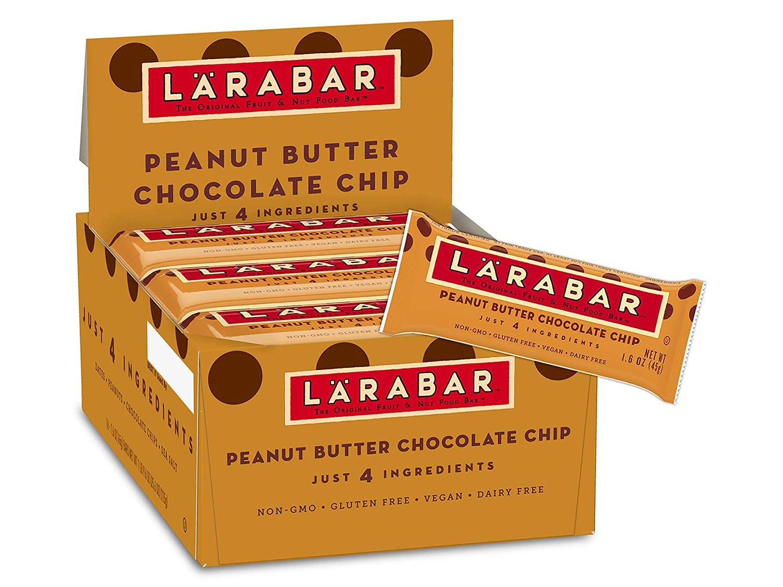 Larabar, Gluten Free Bar, Peanut Butter Chocolate Chip