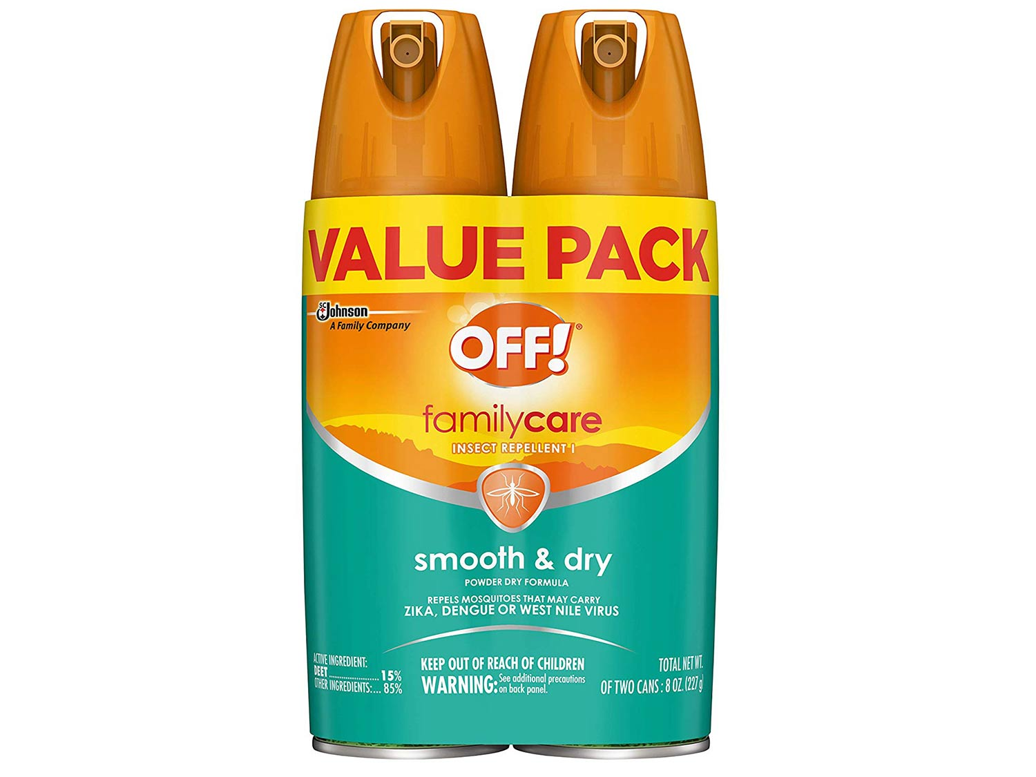 Off! Family Care aerosol insect repellent
