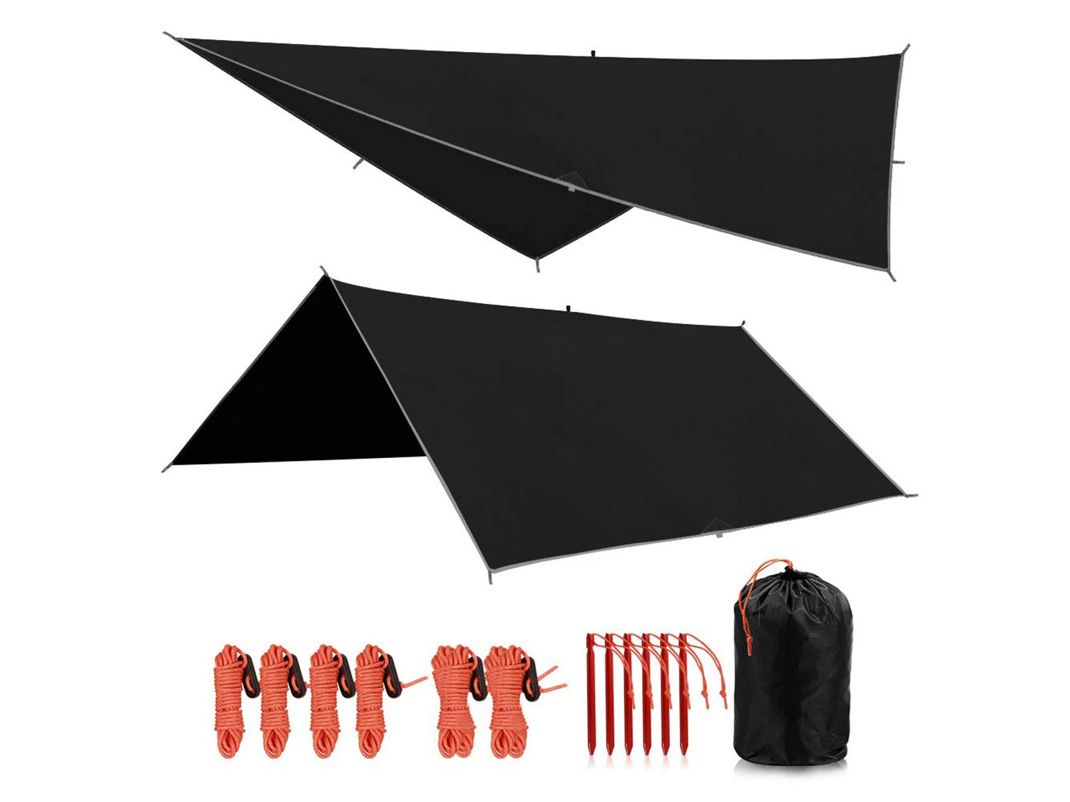 Redcamp waterproof camping tarp