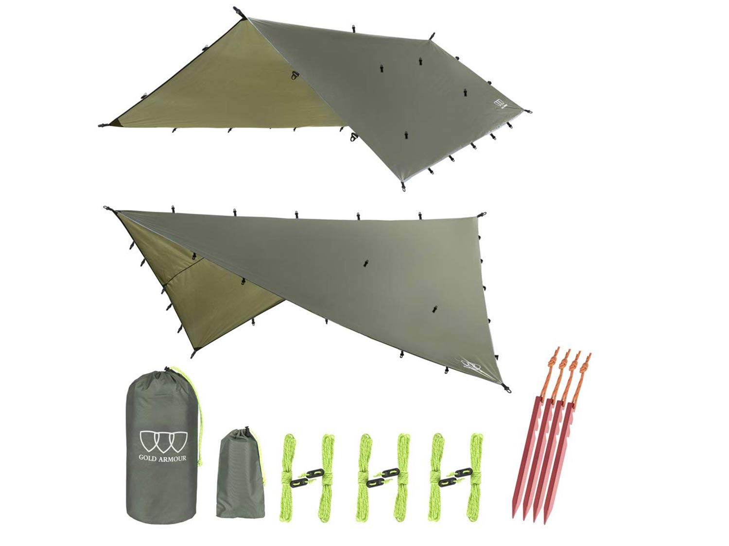 Gold Armour 12ft Extra Large Tarp Hammock