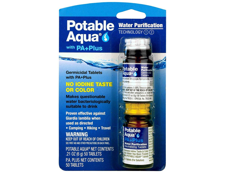 Potable Aqua Purification Tablets