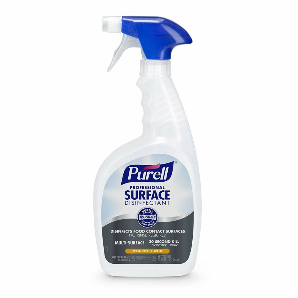 Purell Professional Surface Disinfectant Spray.