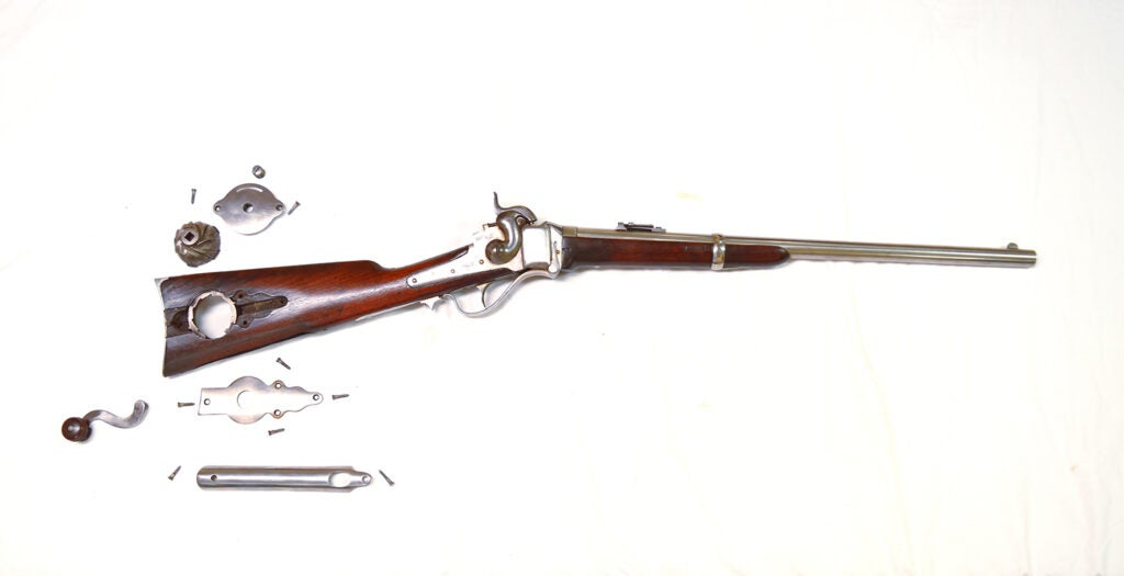 .52-caliber Sharps New Model 1863 Carbine