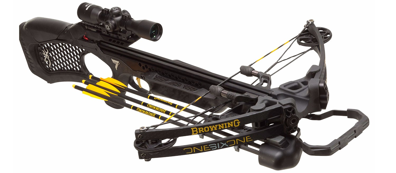 Browning Zero 7 Model 161 Crossbow Package