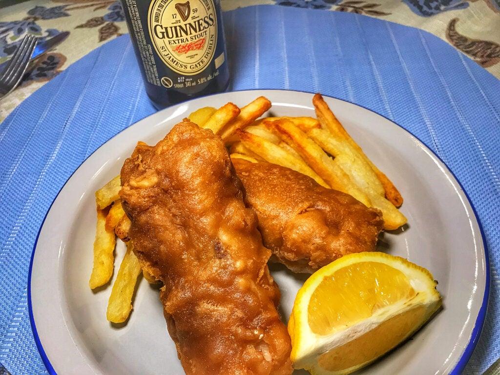 Guinness Battered Fish