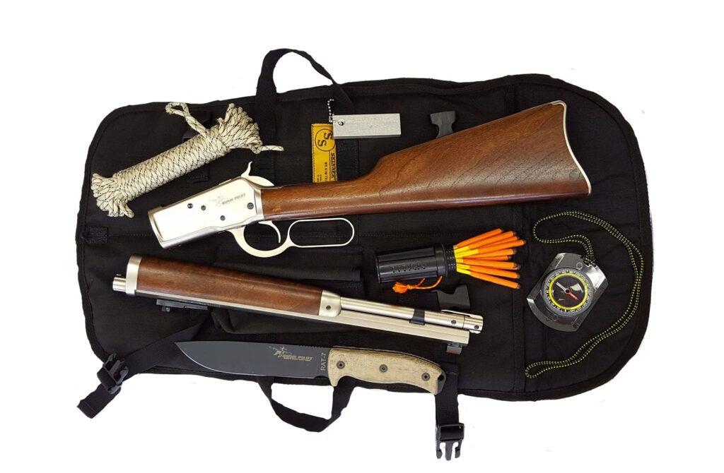 Skinner Sights Bush Pilot Carbine Survival Kit.
