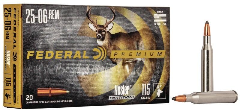 Federal Premium .25-06 Remington