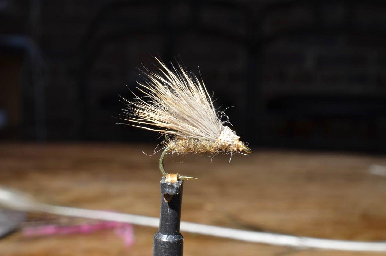 The Deer Hair Sedge fly lure