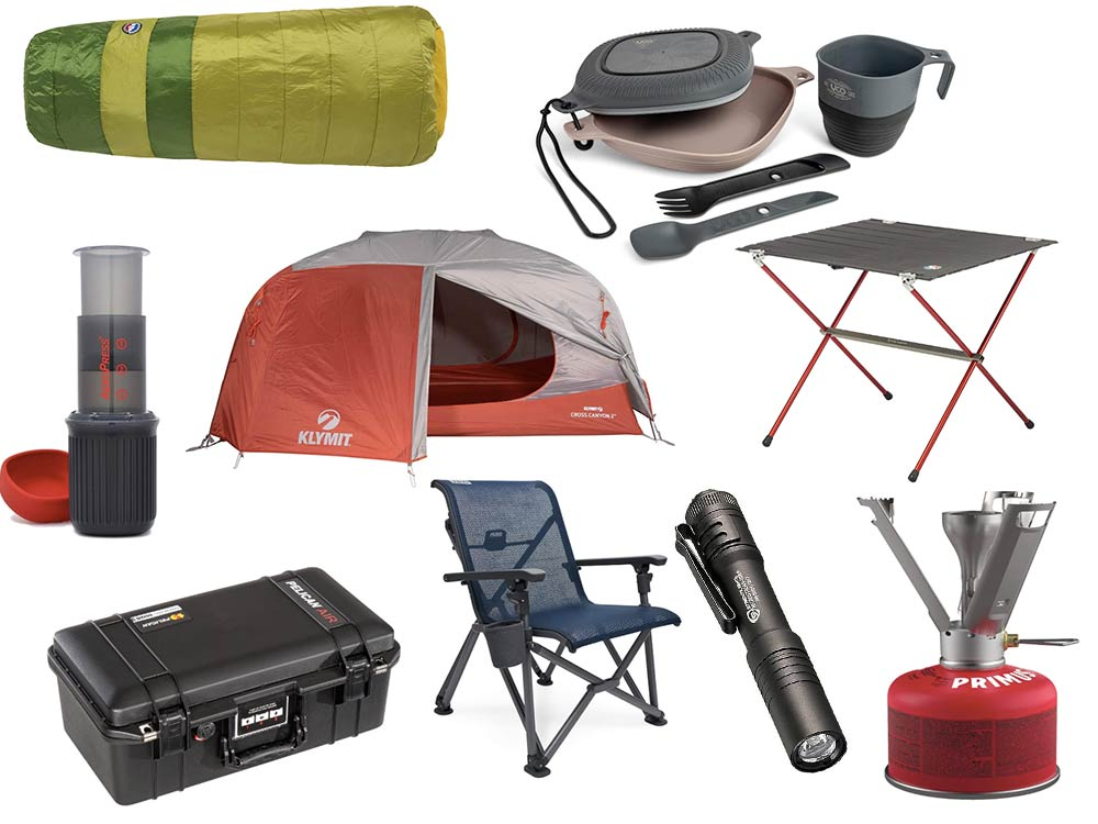 The best camping gear.