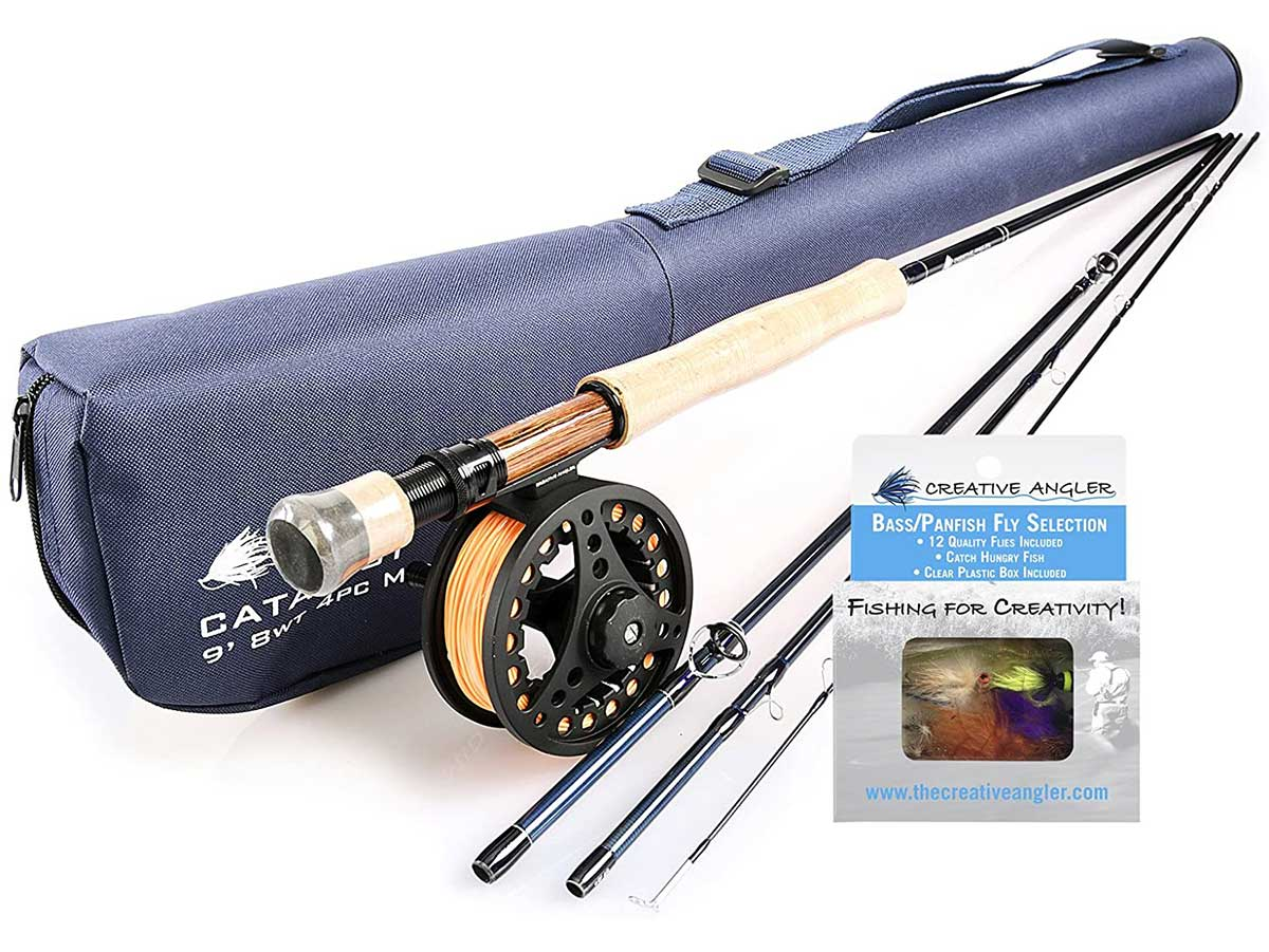 Creative Angler Catalyst Fly Rod and Fly Reel Combo