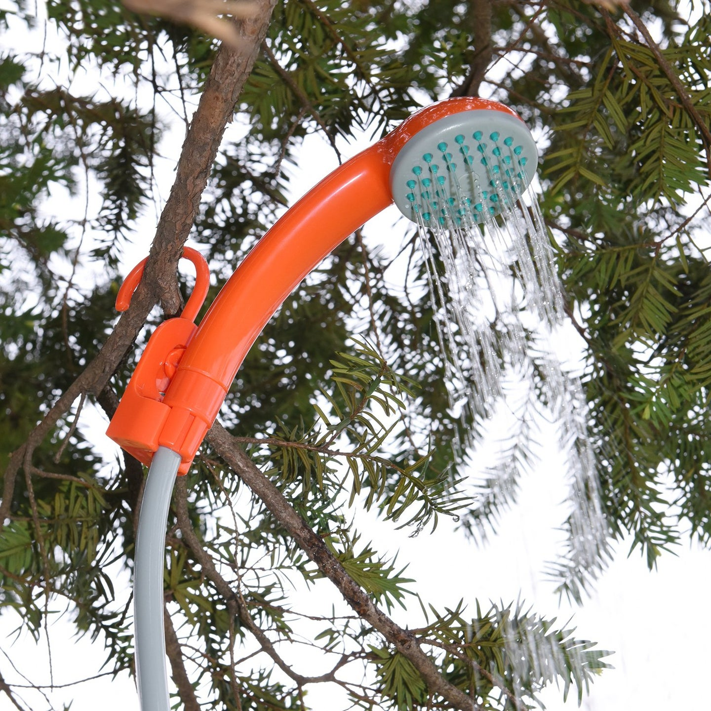 Portable camp showers