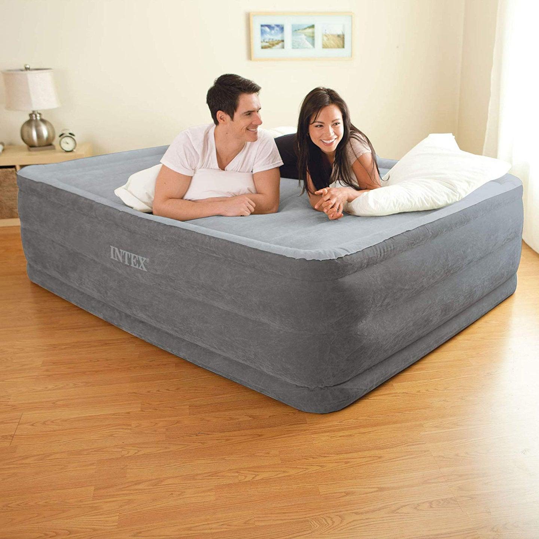 inflated air mattress
