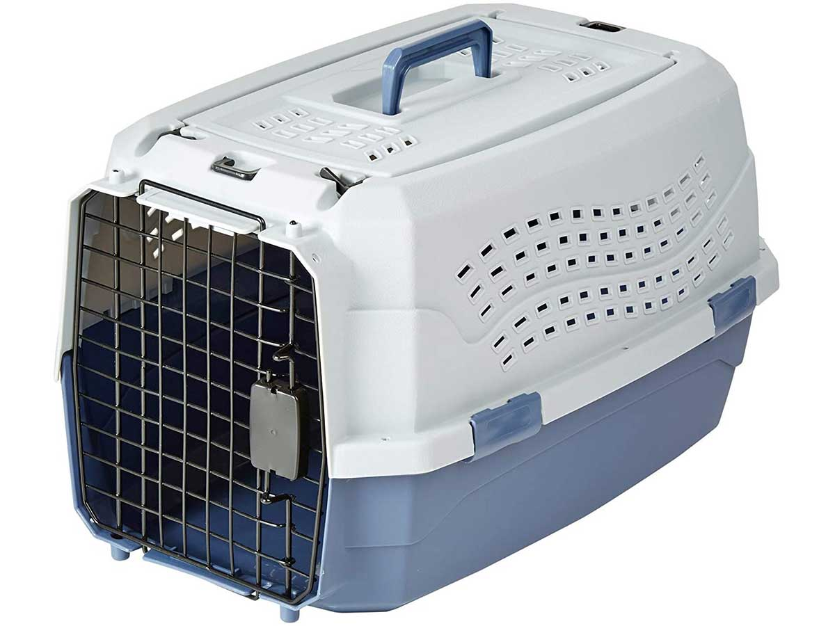 plastic animal crate