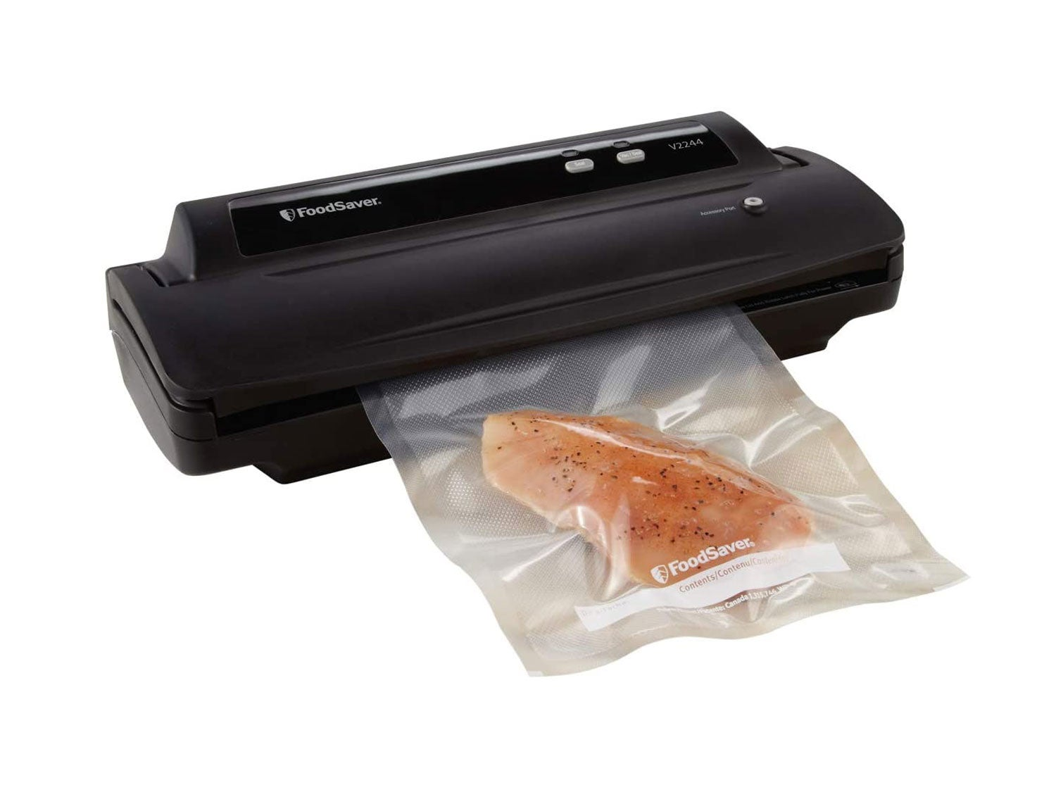 FoodSaver Machine for Food Preservation with Bags and Rolls Starter Kit