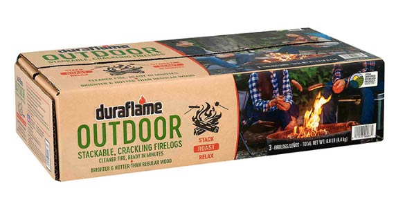 The Duraflame Outdoor Fire Log