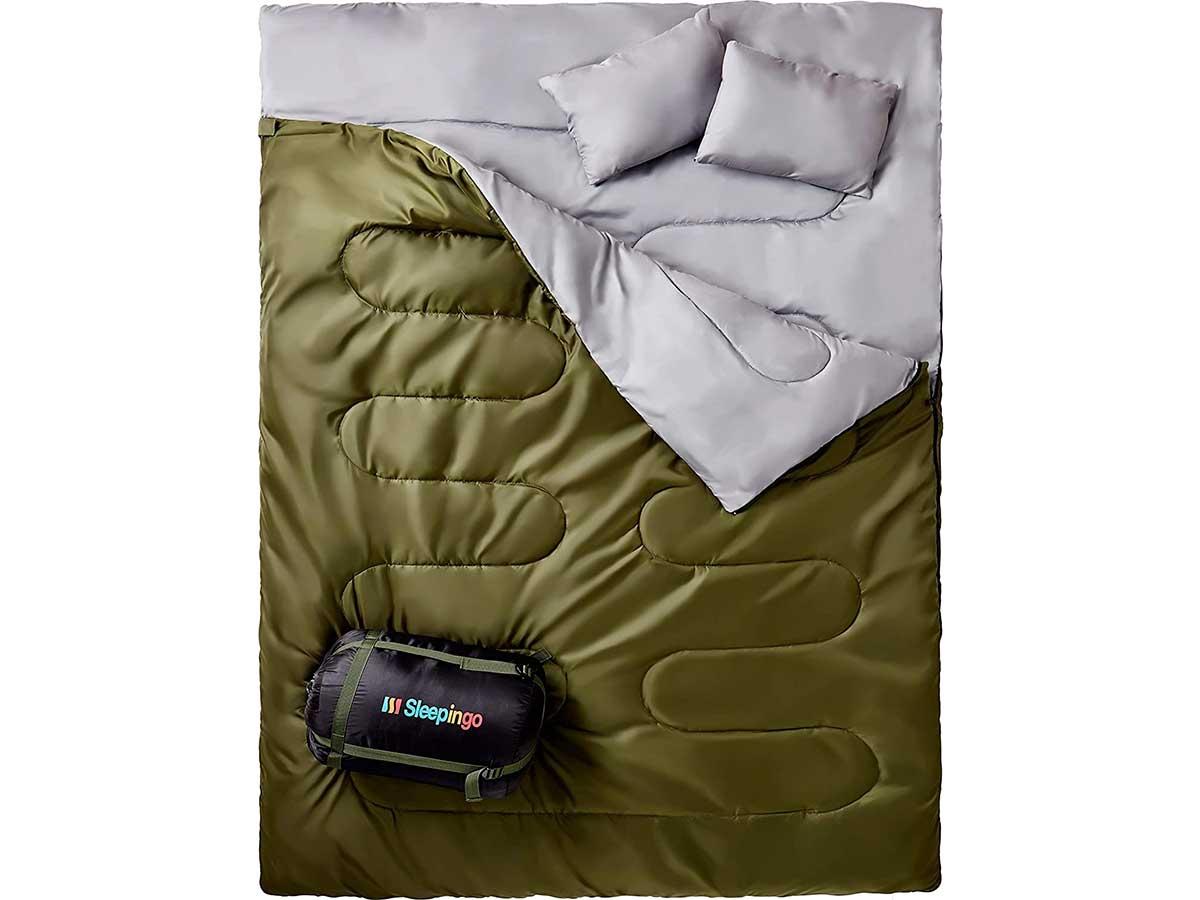 queen-size sleeping bag