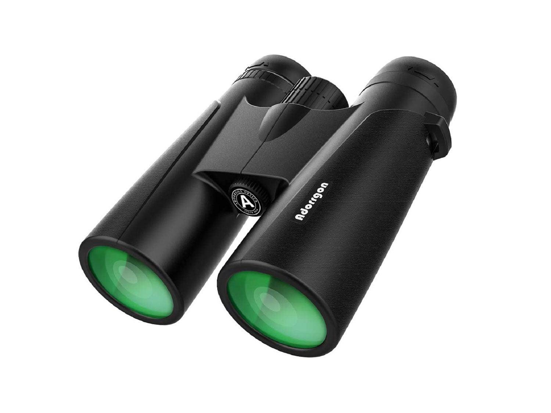 12x42 Powerful Binoculars with Clear Weak Light Vision