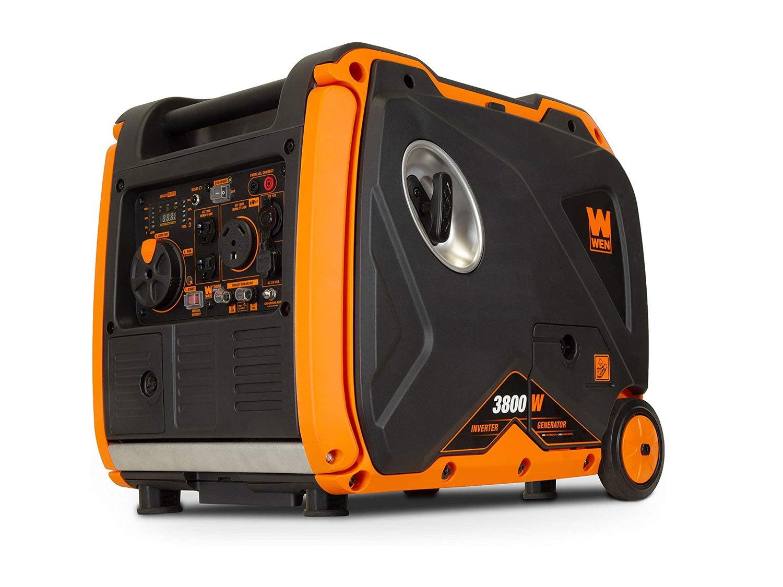 WEN Super Quiet 3800-Watt Portable Inverter Generator with Fuel Shut-Off and Electric Start