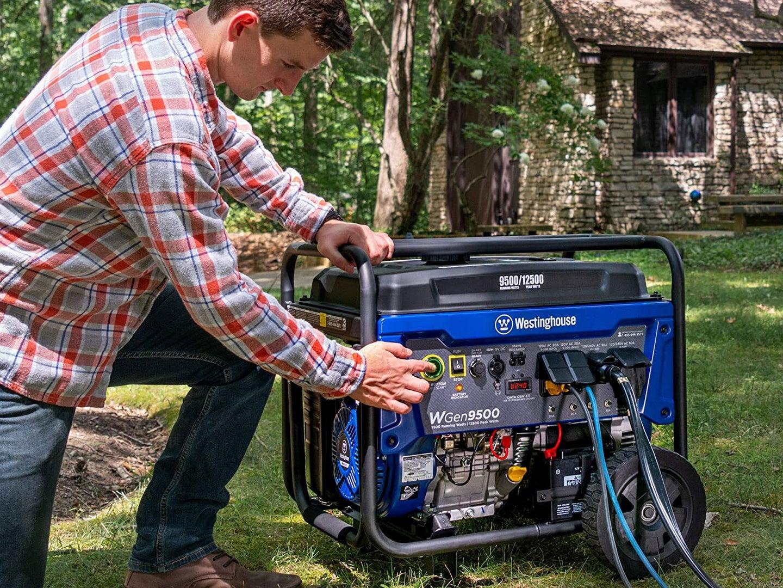 turning on high-output generator