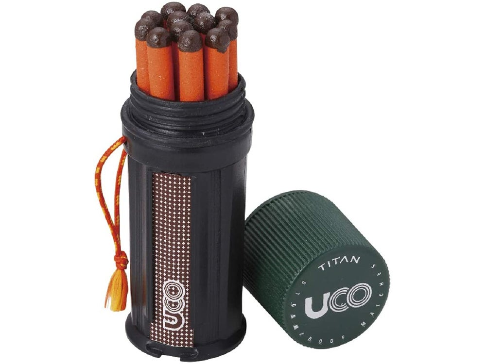 UCO Titan Stormproof Match Kit with Waterproof Case