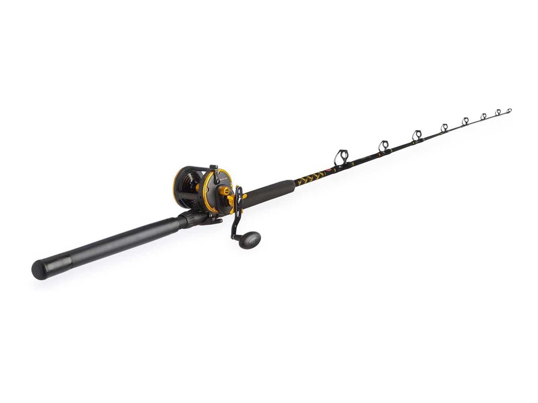 PENN Squall Level Wind Reel & Rod Fishing Combo