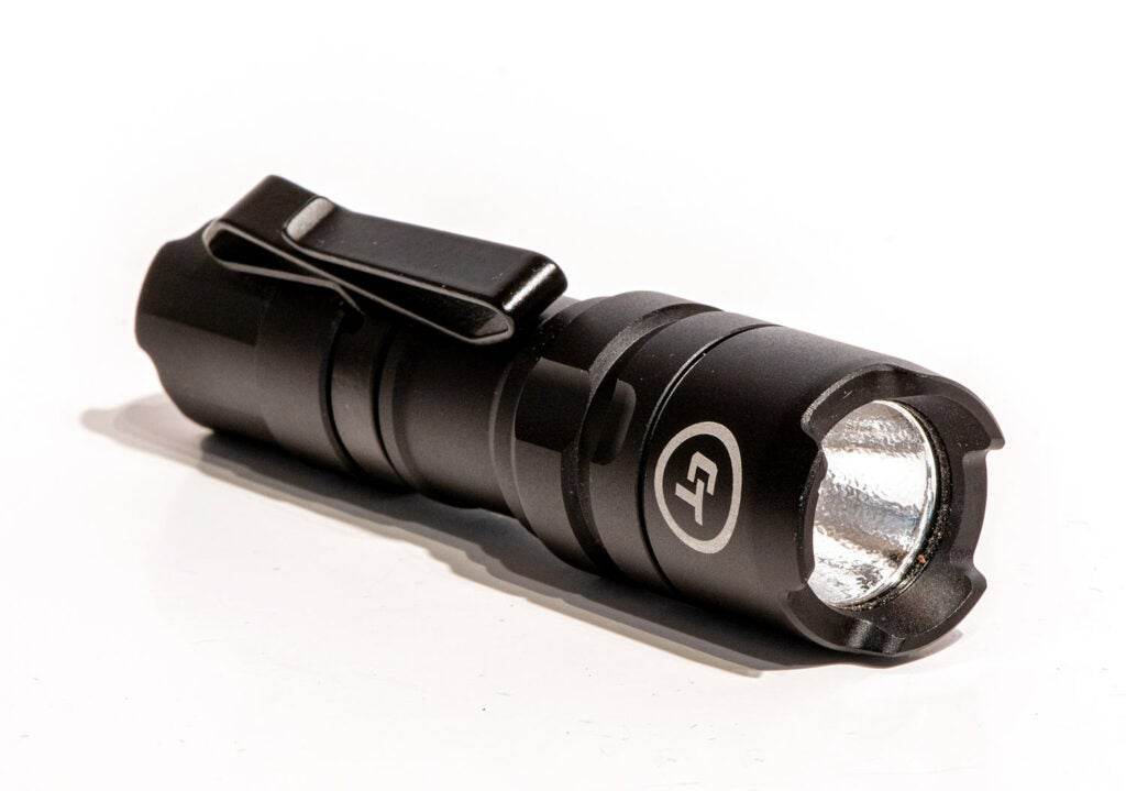 Crimson Trace flashlight.
