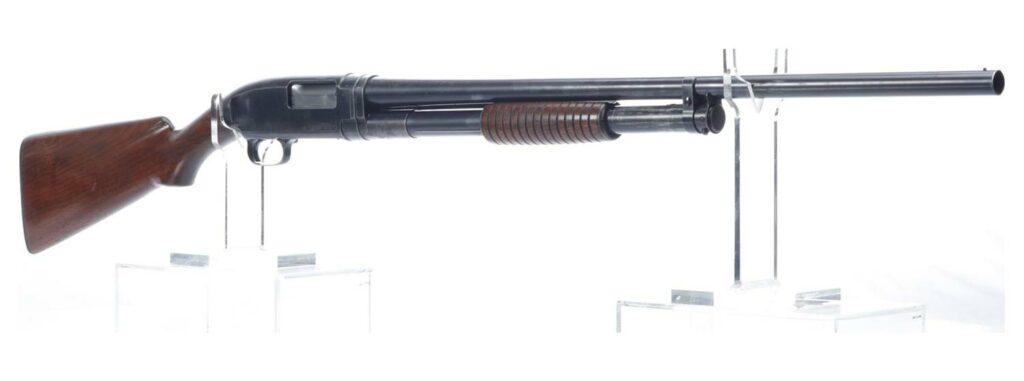 The Winchester Model 12 Shotgun.