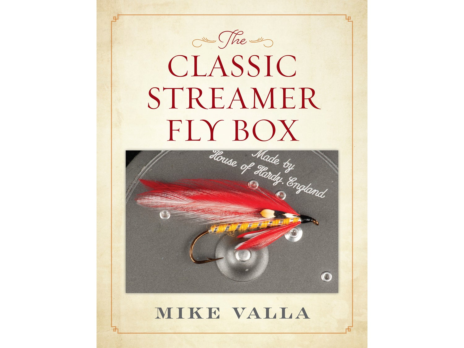 Mike Valla's The Classic Streamer Fly Box.