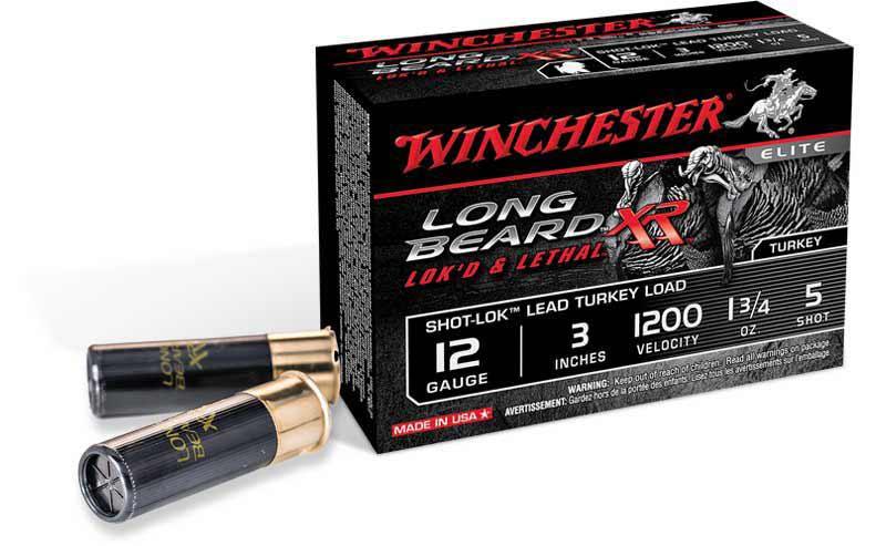 Winchester Long Beard XR ammunition.