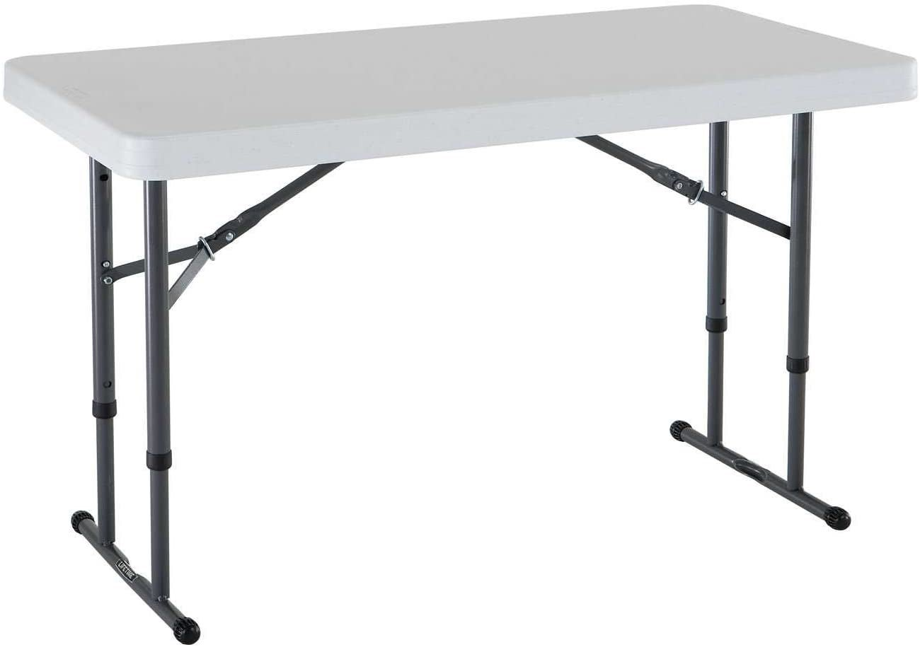 Lifetime Commercial Height Adjustable Folding Utility Table