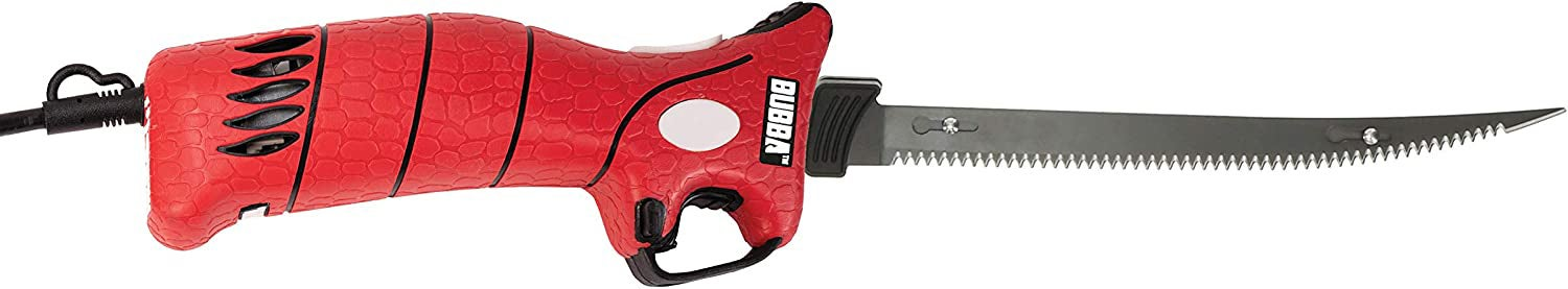 Bubba 110V Electric Fillet Knife with Non-Slip Grip Handle